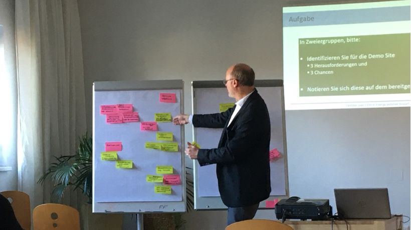 Next steps identified for Austrian demo site at co-innovation workshop in Graz