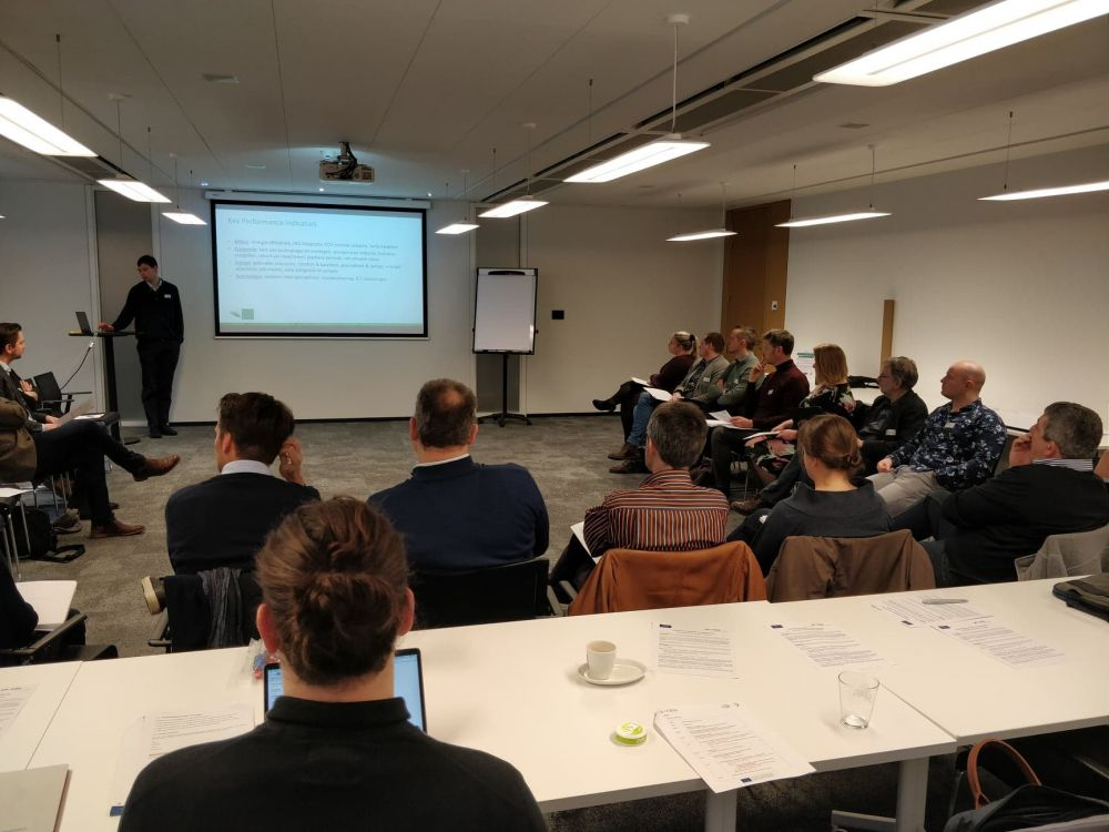 The first EXCESS co-innovation workshop took place in Belgium